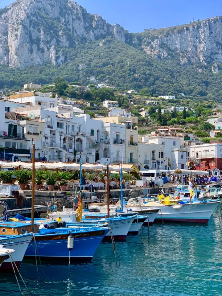 Ítalía – Napolí –Capri